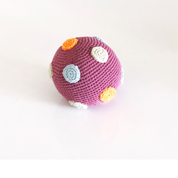 Organic ball - soft purple