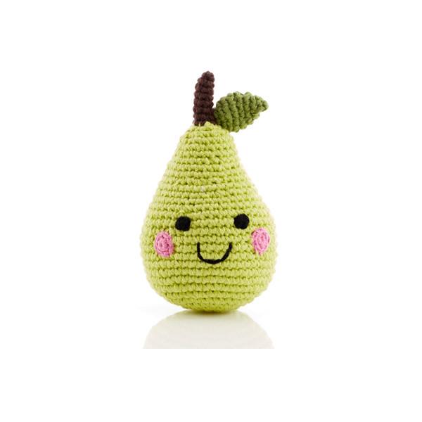 Friendly fruit rattle – pear