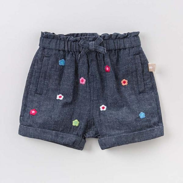 Hose Shorts für Mädchen mit Blumenmuster
