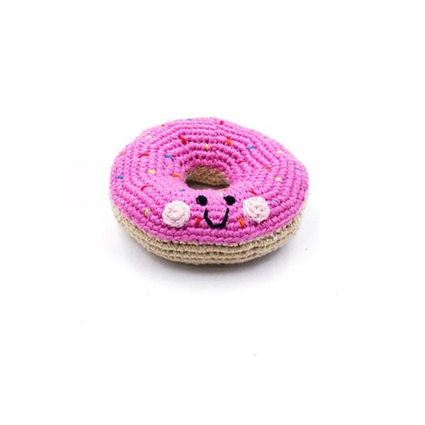 Friendly Doughnut - mid pink