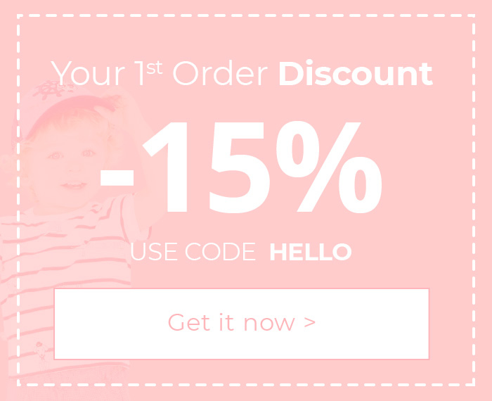 1st Order Discount