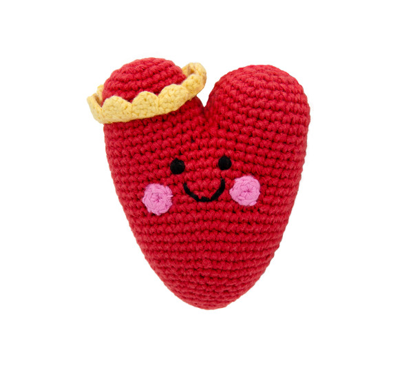 Heart rattle – red