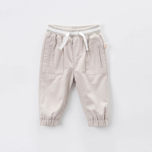 Cotton trousers relaxed fit