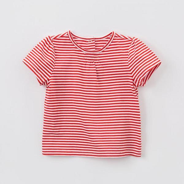 T-Shirt Rote Streifen
