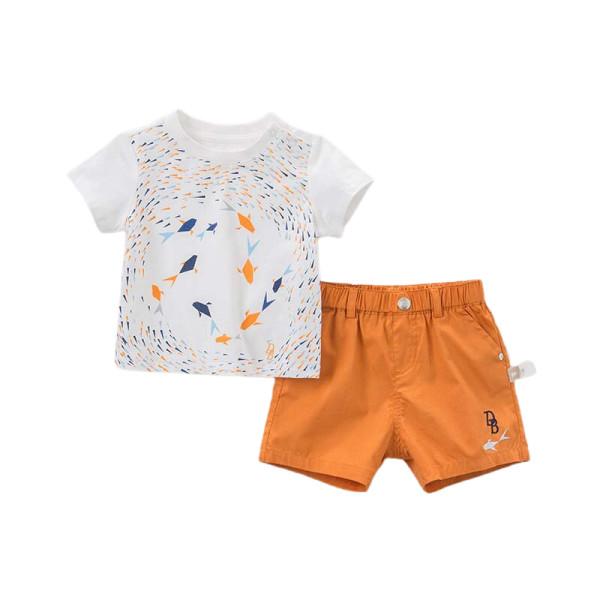 T-shirt and Shorts Set - Goldfish