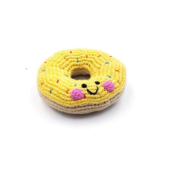 Friendly Doughnut - yellow