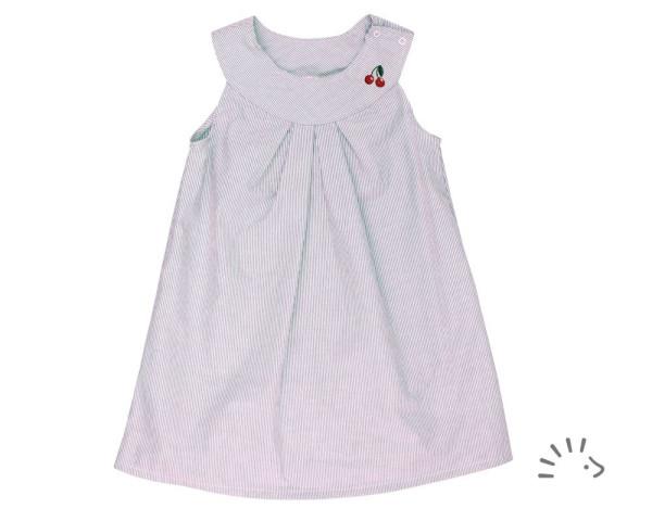 Kleid ROSE Popeline