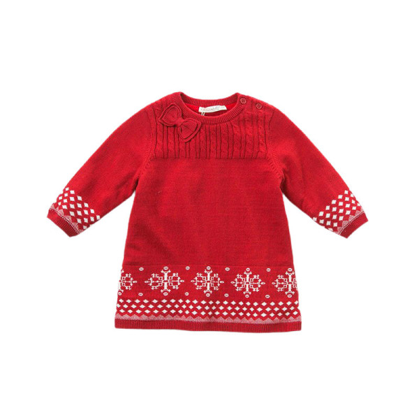 Knitted Dress Christmas