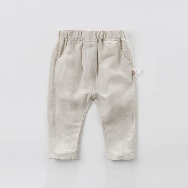 Apricot full length fashion pants