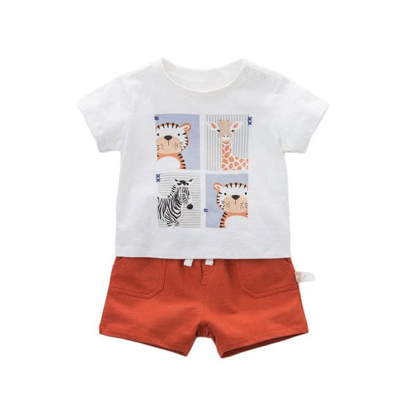 Boy set t-shirt and shorts Africa