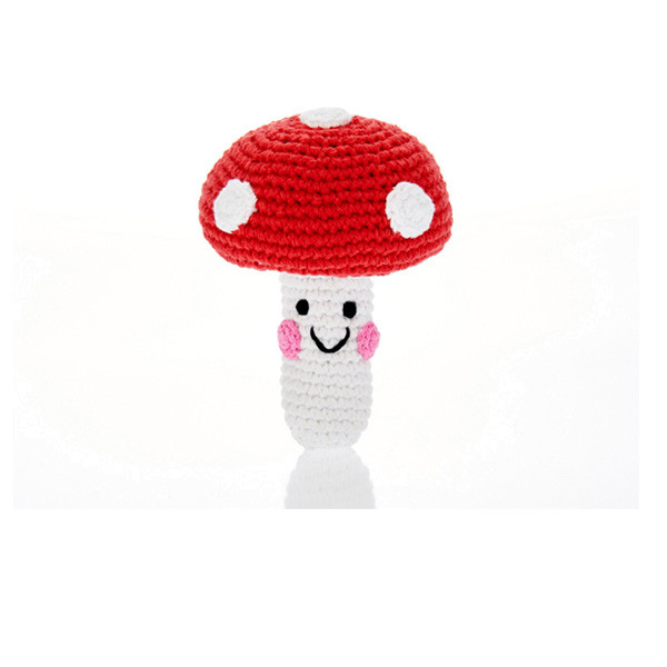 Friendly toadstool – Red