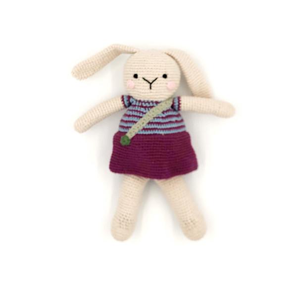 Bunny girl purple