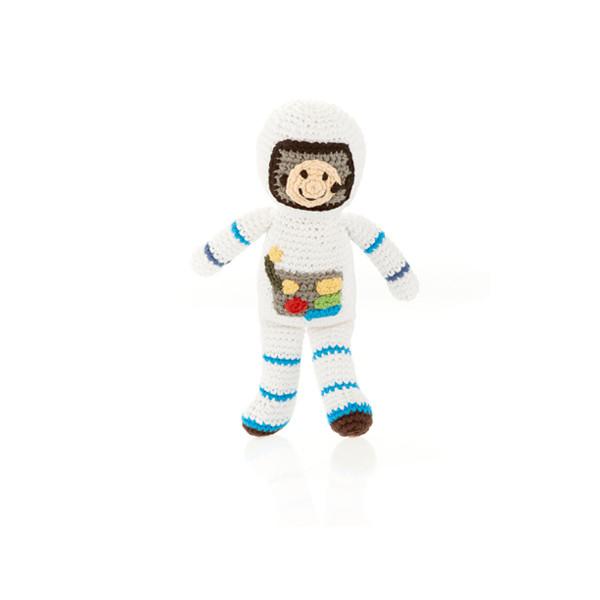 Astronaut rattle