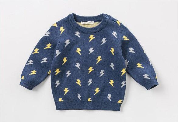 Knitted Jumper Lightning Bolt