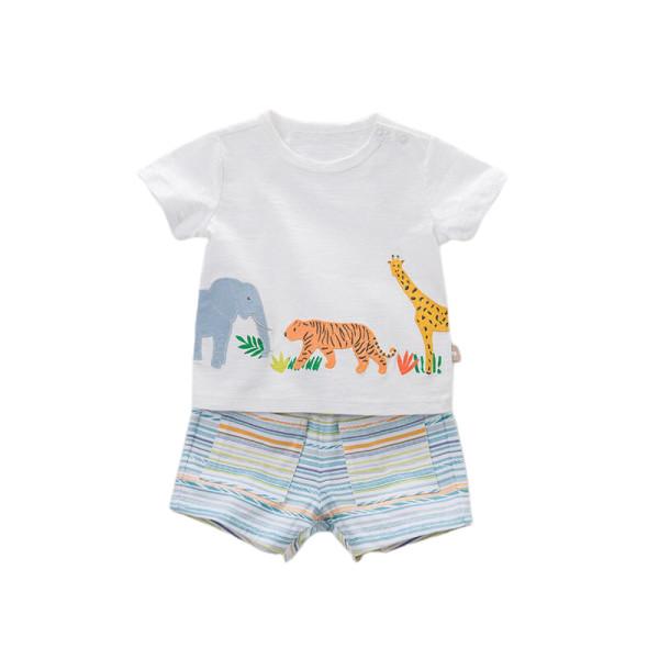 T-shirt and Shorts Set - Jungle
