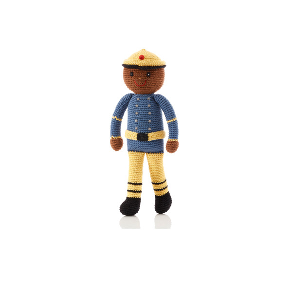 Large doll – fireman